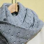 Crochet vegan cowl - Long - Cotton ..
