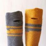 Fingerless gloves - wrist warmer - ..